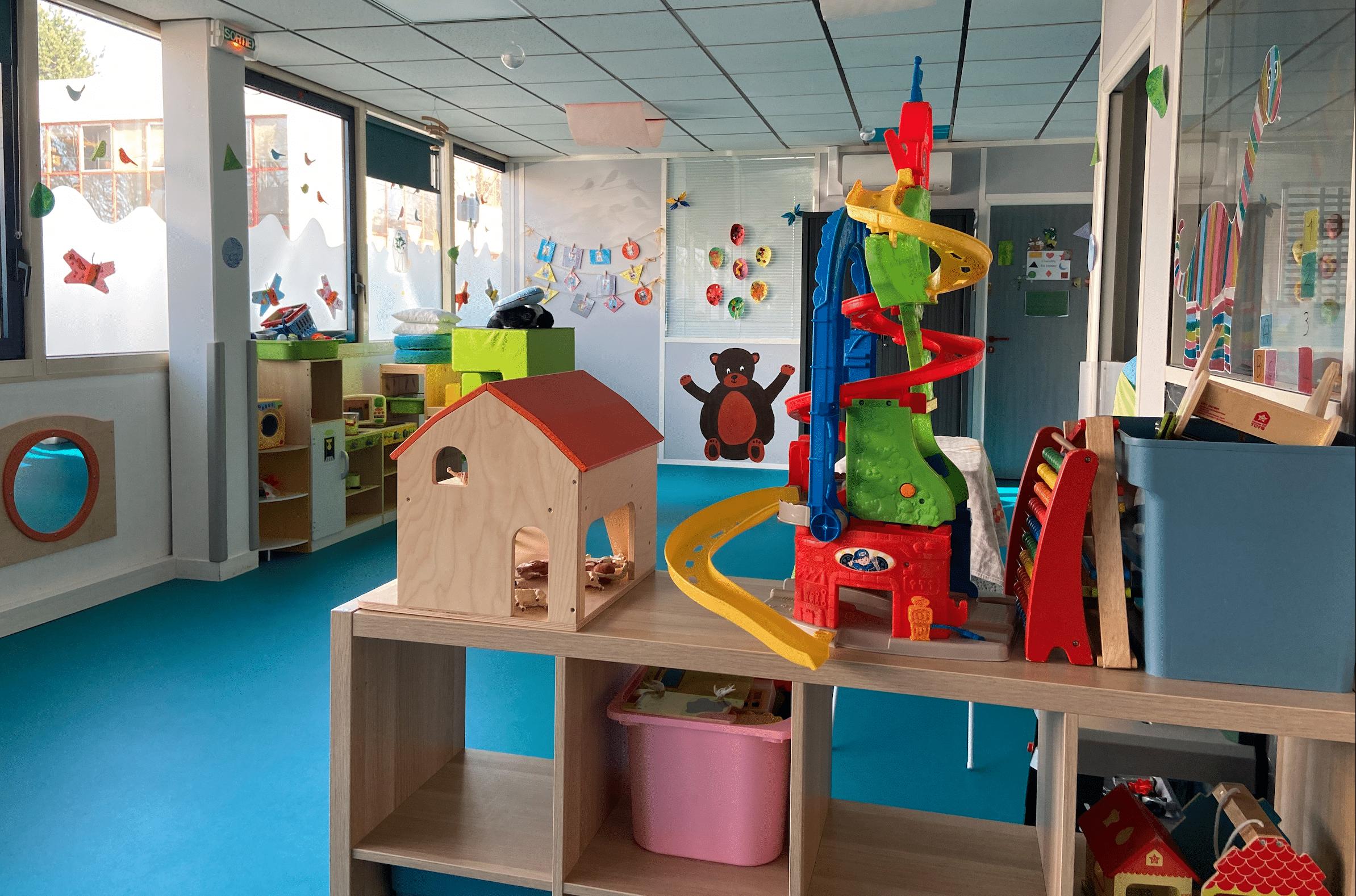 Vue d'ensemble jouets Fuschia